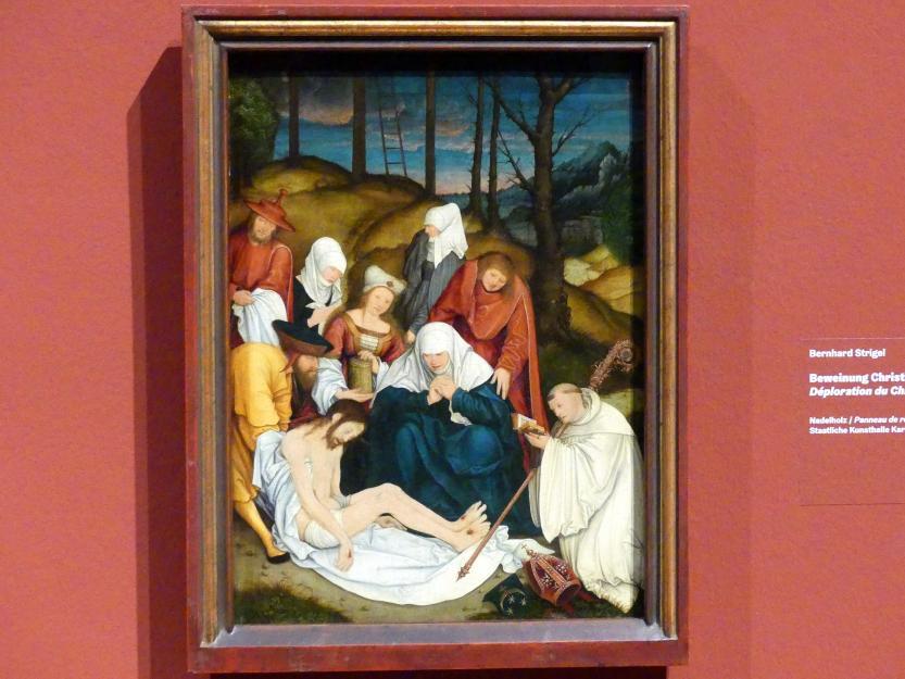 Bernhard Strigel: Beweinung Christi, nach 1520