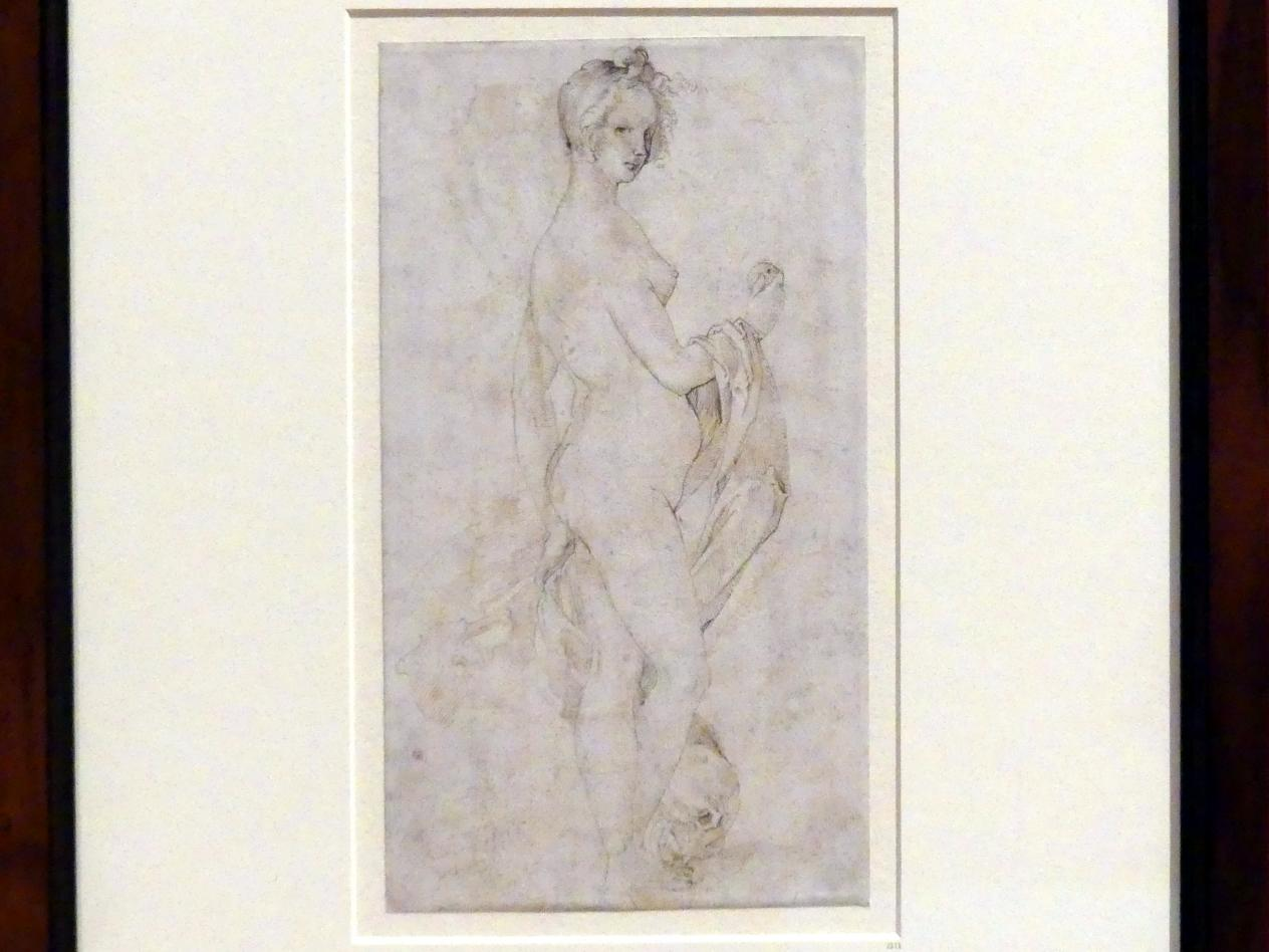 Hans Baldung Grien: Weiblicher Akt im Profil, um 1523 - 1527