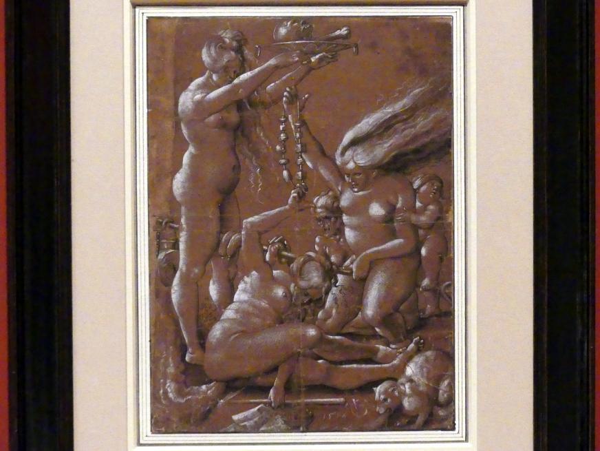 Urs Graf der Ältere: Hexensabbat, 1514