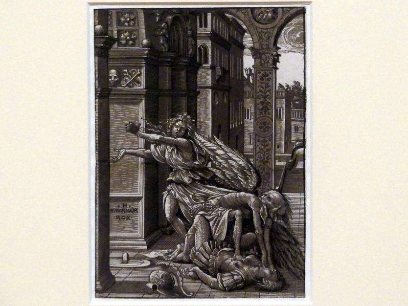 Hans Burgkmair der Ältere: Der Tod überfällt ein Liebespaar, 1510