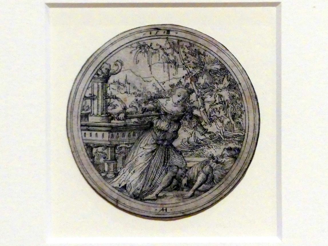 Ambrosius Holbein: Pyramus und Thisbe, 1518