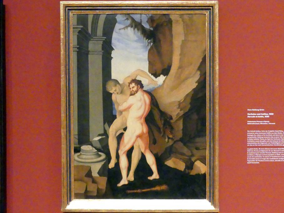 Hans Baldung Grien: Herkules und Antäus, 1530