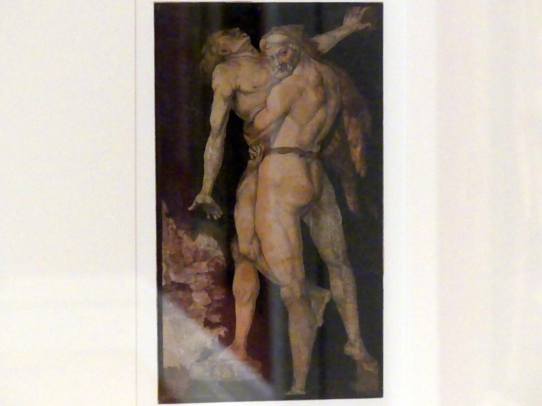 Hans Baldung Grien: Herkules und Antäus, um 1530