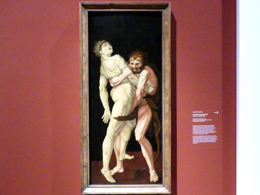 Hans Baldung Grien: Herkules und Antäus, 1531