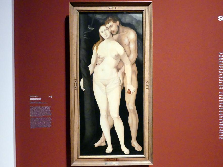 Hans Baldung Grien: Adam und Eva, um 1531