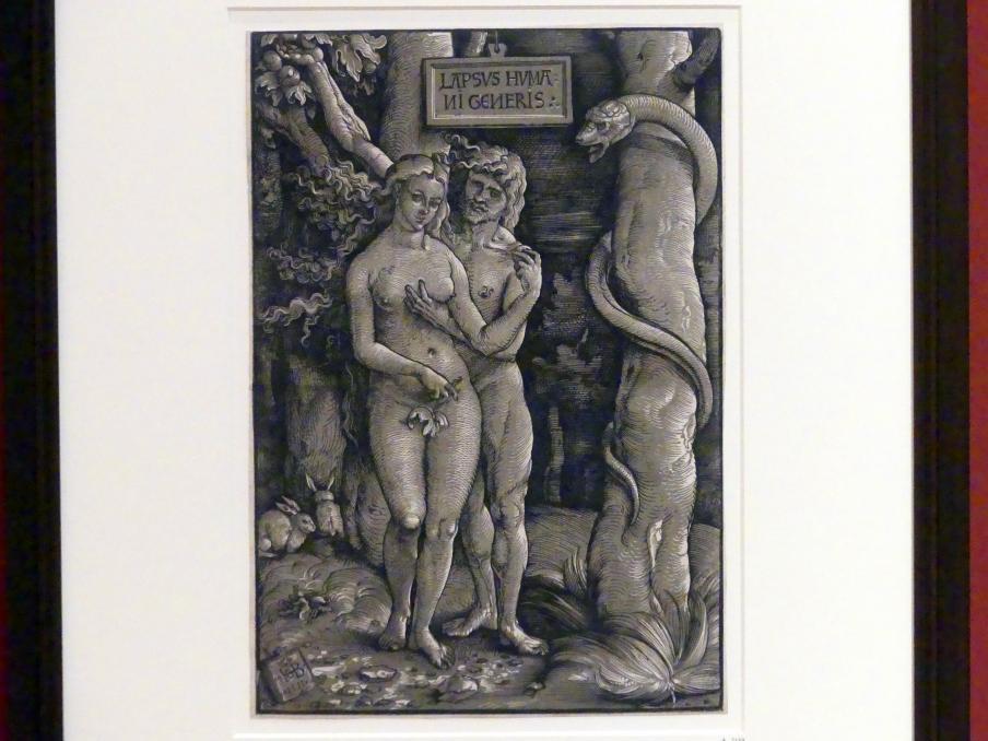 Hans Baldung Grien: Der Sündenfall, 1511