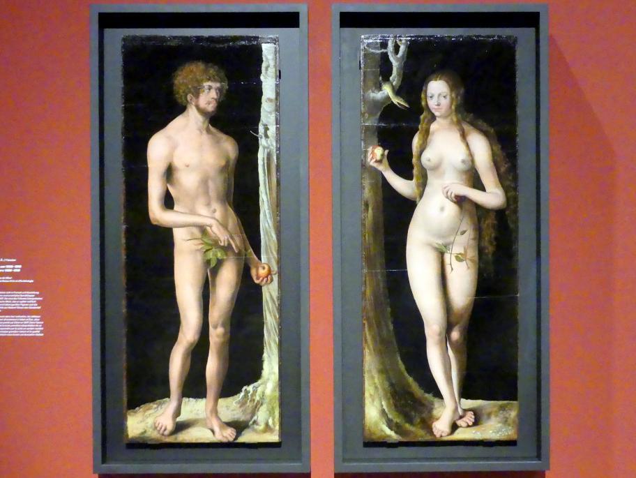 Lucas Cranach der Ältere: Der Sündenfall, um 1508 - 1510