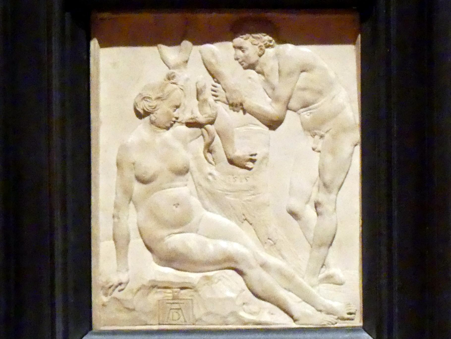 Ludwig Krug (Kopie): Adam und Eva, um 1524