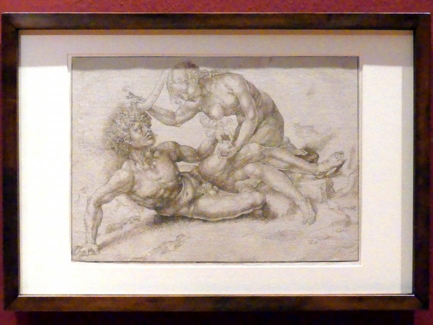 Jan Gossaert (Mabuse) (Nachfolger): Adam und Eva, um 1520 - 1525