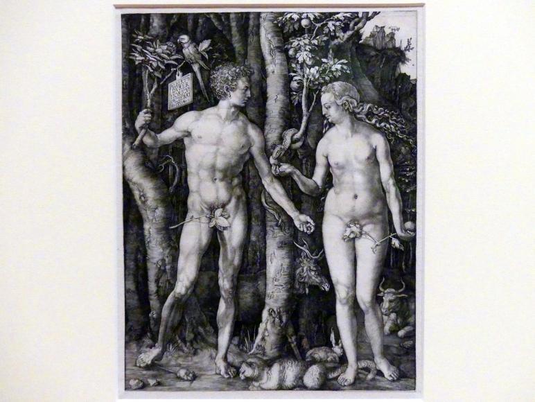 Albrecht Dürer: Adam und Eva, 1504