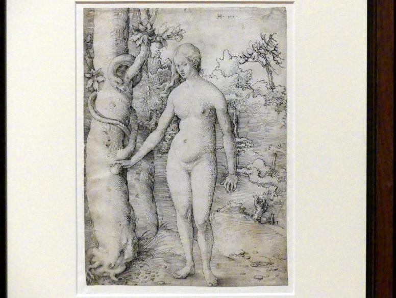 Hans Baldung Grien: Eva und die Schlange, 1510