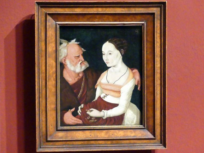 Hans Baldung Grien: Ungleiches Paar, 1528