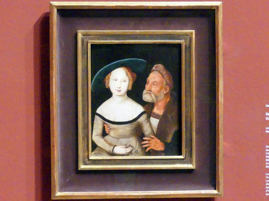 Hans Baldung Grien: Ungleiches Paar, um 1527