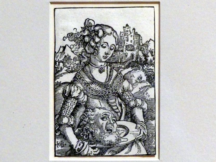 Hans Baldung Grien: Salome, um 1511 - 1512