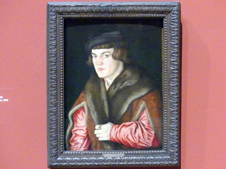 Hans Baldung Grien: Bildnis eines 25-jährigen Mannes, 1519