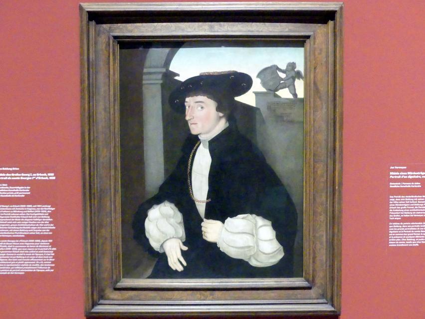 Hans Baldung Grien: Bildnis des Grafen Georg I. zu Erbach, 1533