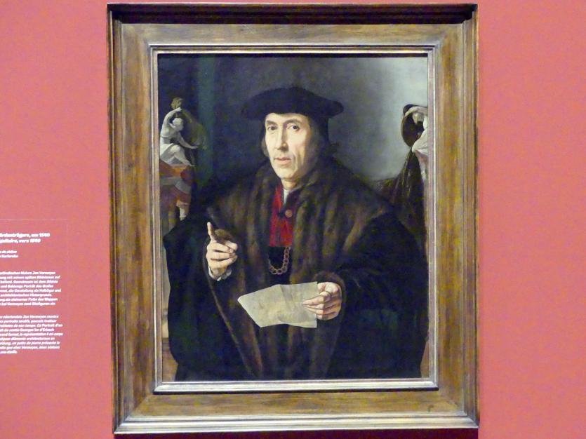 Jan Cornelisz Vermeyen: Bildnis eines Würdenträgers, um 1540