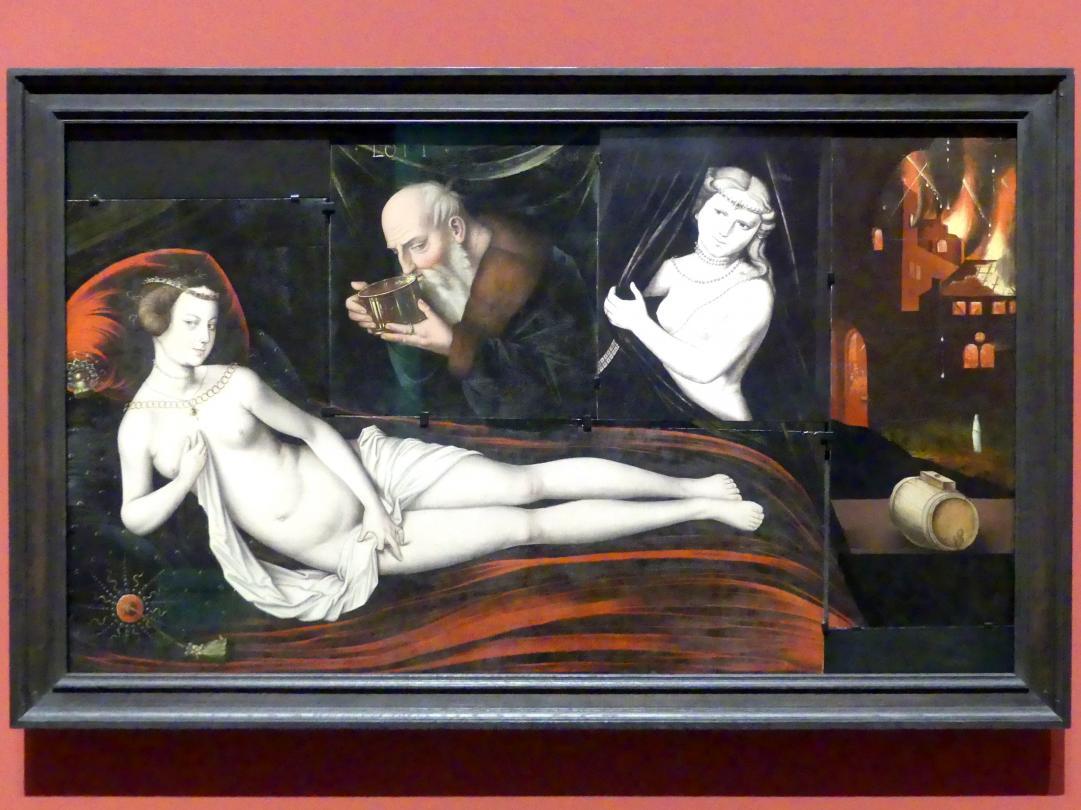 Hans Baldung Grien: Lot und seine Töchter, drei Fragmente, um 1535 - 1540