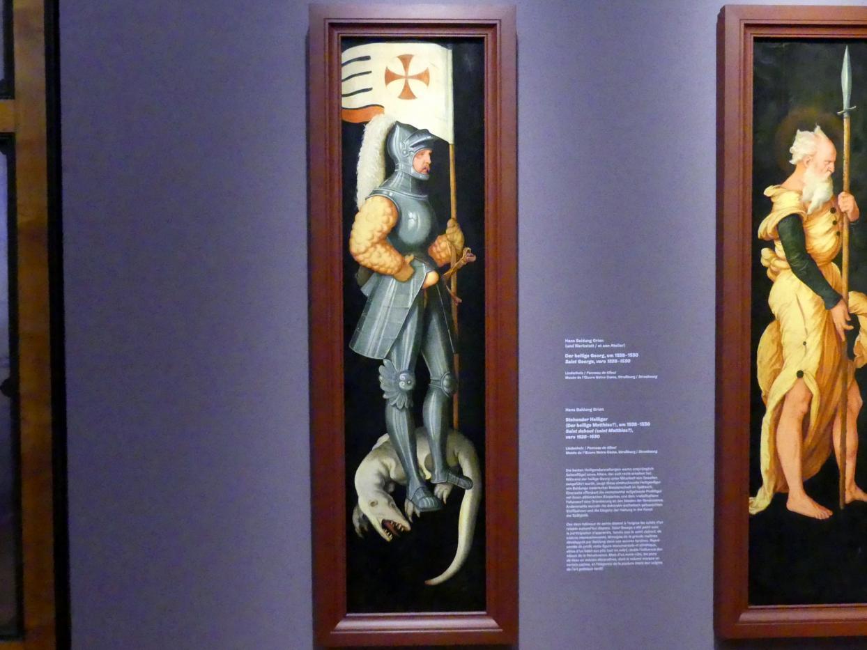 Hans Baldung Grien: Der heilige Georg, um 1528 - 1530