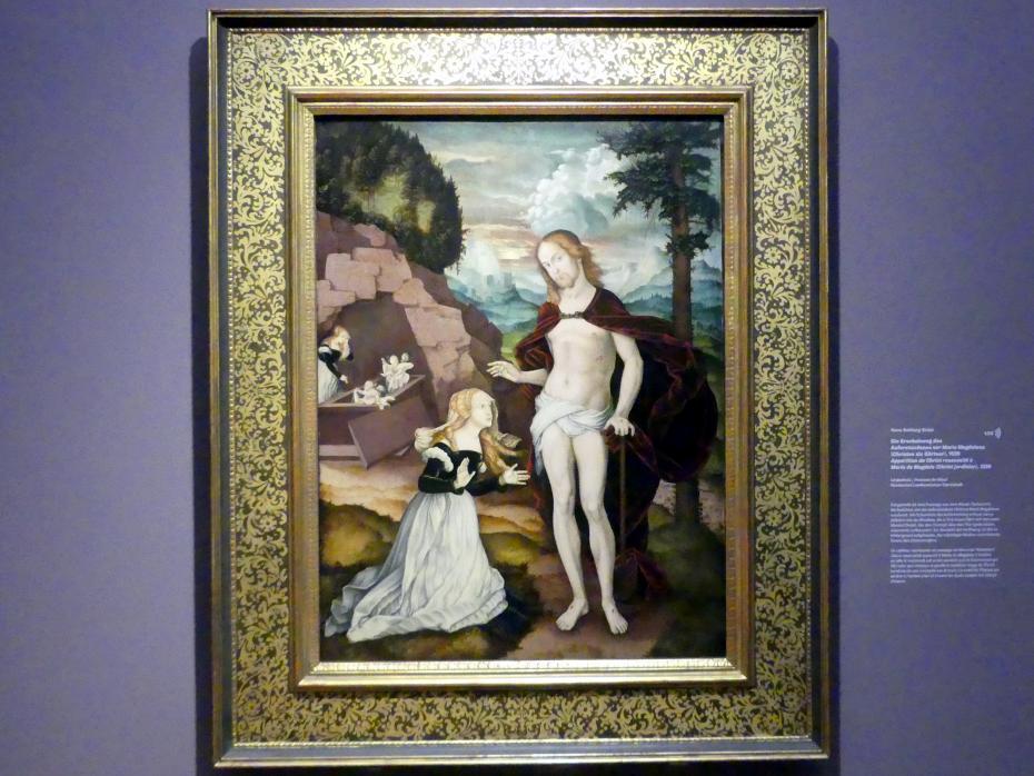 Hans Baldung Grien: Die Erscheinung des Auferstandenen vor Maria Magdalena (Christus als Gärtner), 1539