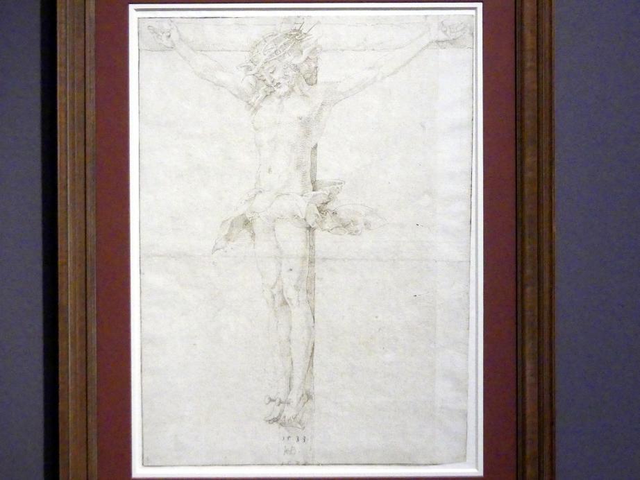 Hans Baldung Grien: Christus am Kreuz, 1533