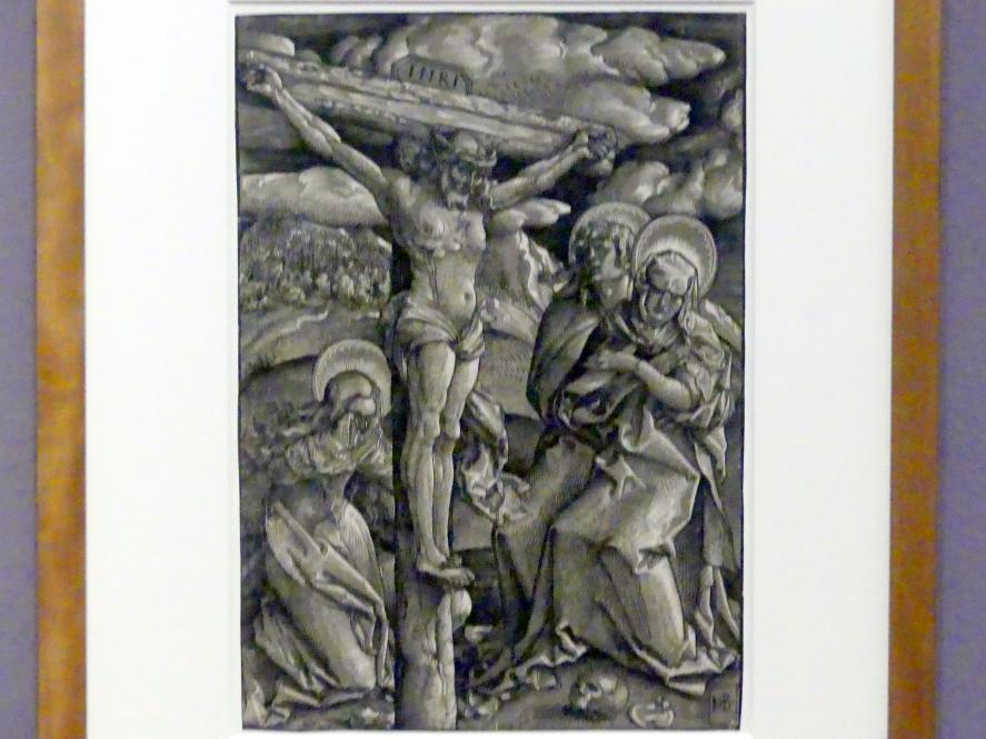 Hans Baldung Grien: Christus am Kreuz zwischen Magdalena, Johannes und Maria, um 1510 - 1512