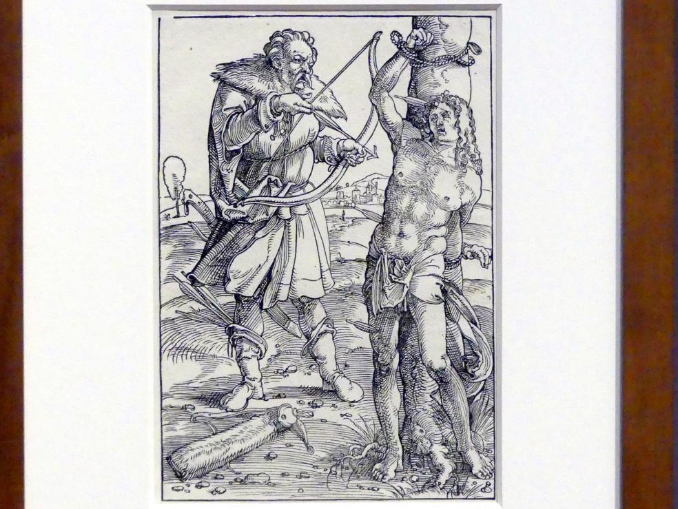 Hans Baldung Grien: Die Marter des heiligen Sebastian, um 1505 - 1507