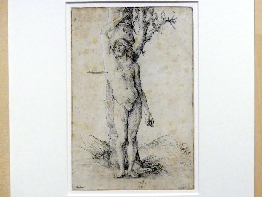 Hans Baldung Grien: Der gemarterte heilige Sebastian, 1510