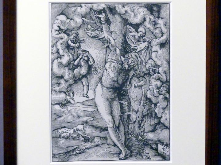 Hans Baldung Grien: Der große heilige Sebastian, 1514