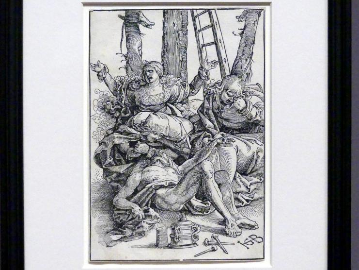 Hans Baldung Grien: Der Beweinung Christi, 1515 - 1517