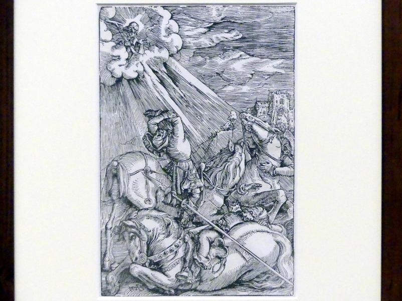 Hans Baldung Grien: Der Bekehrung des Saulus, um 1515 - 1517