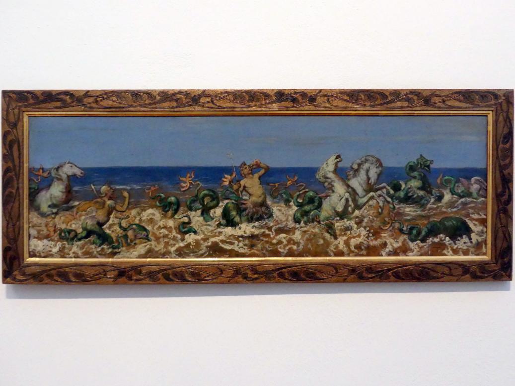 Hans Thoma: Der Tritonenzug, 1882