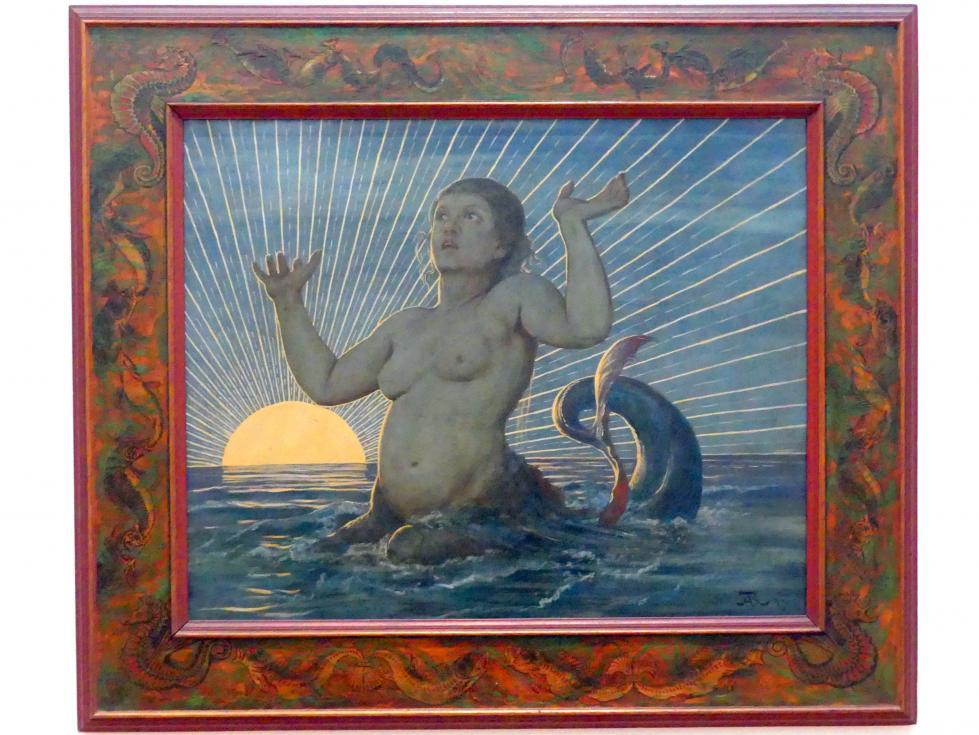 Hans Thoma: Meereserwachen, 1893