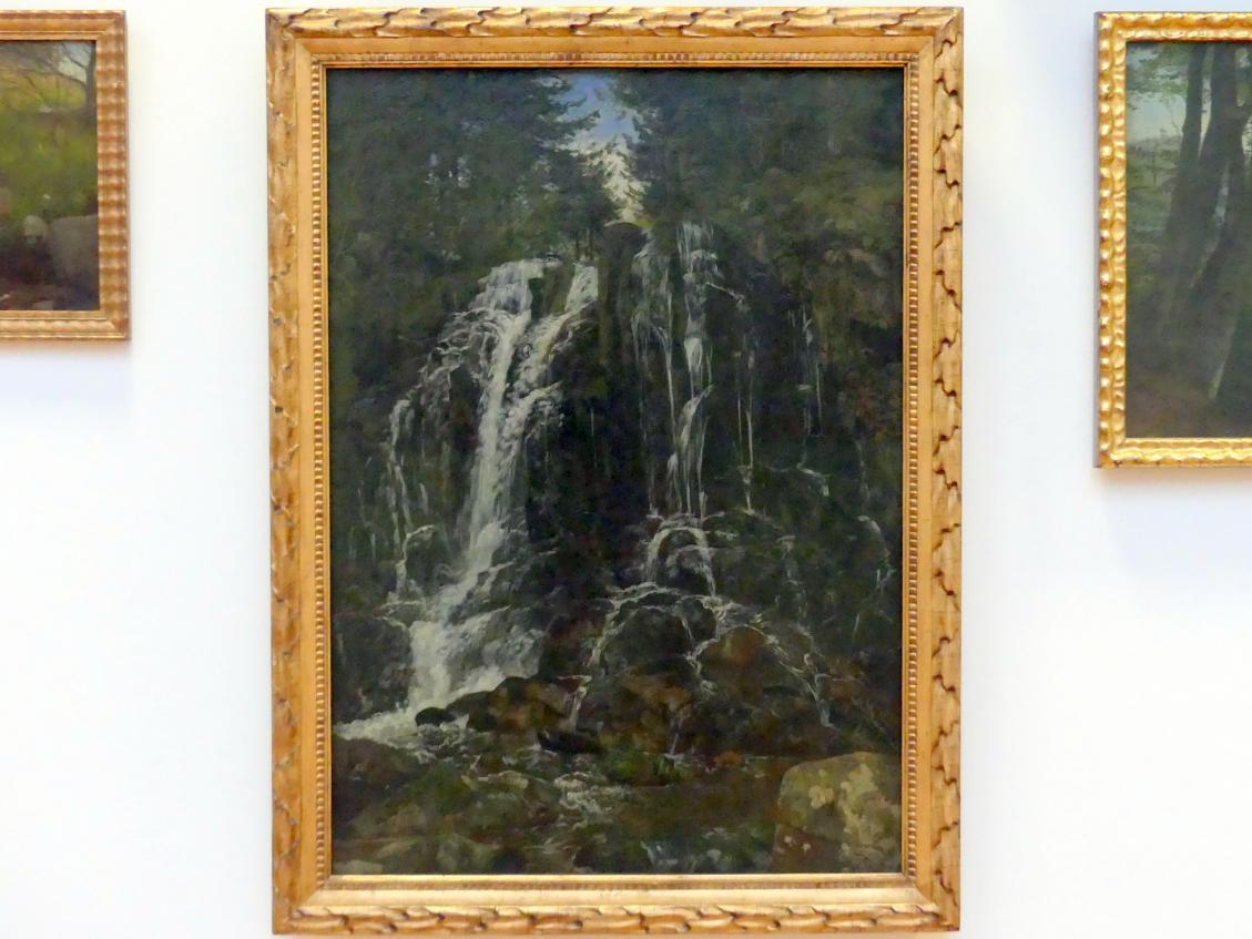 Hans Thoma: Wasserfall bei St. Blasien, 1871