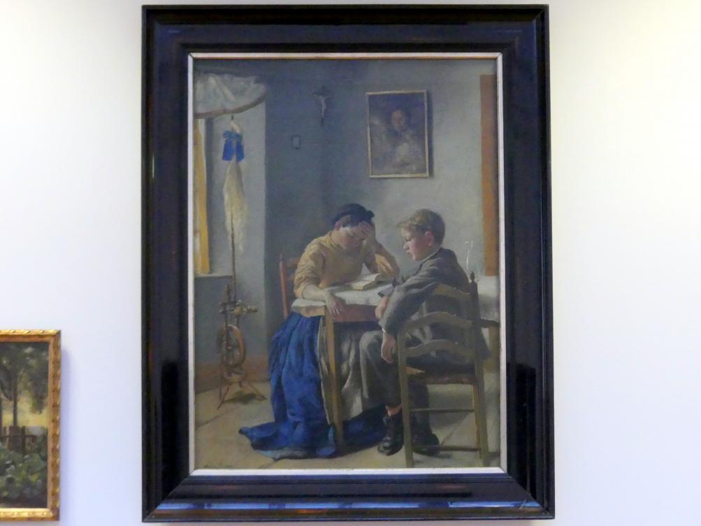 Hans Thoma: Die Geschwister, 1873