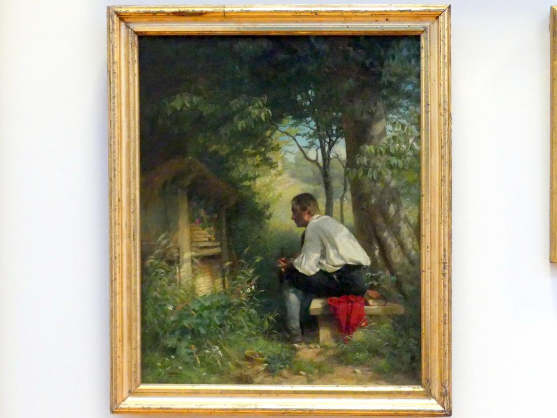 Hans Thoma: Der Bienenfreund, 1863