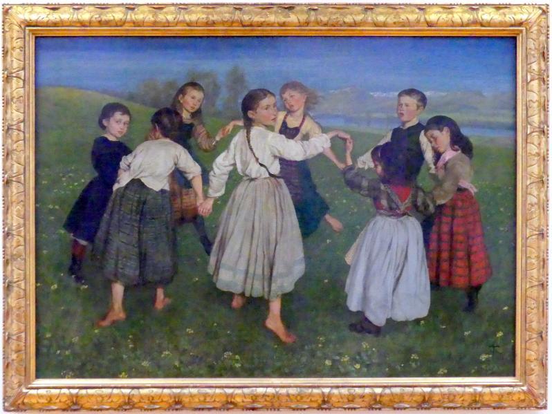 Hans Thoma: Kinderreigen, 1872
