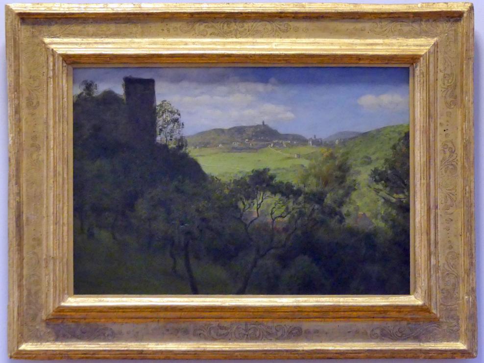 Hans Thoma: Blick auf Falkenstein im Taunus, 1880