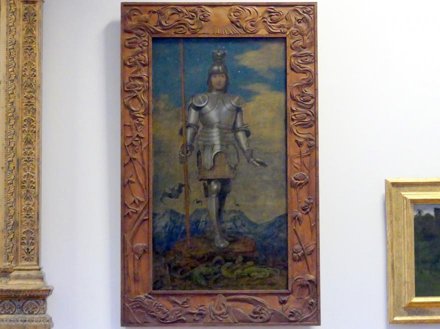 Hans Thoma: Der Heilige Ritter Georg, 1909