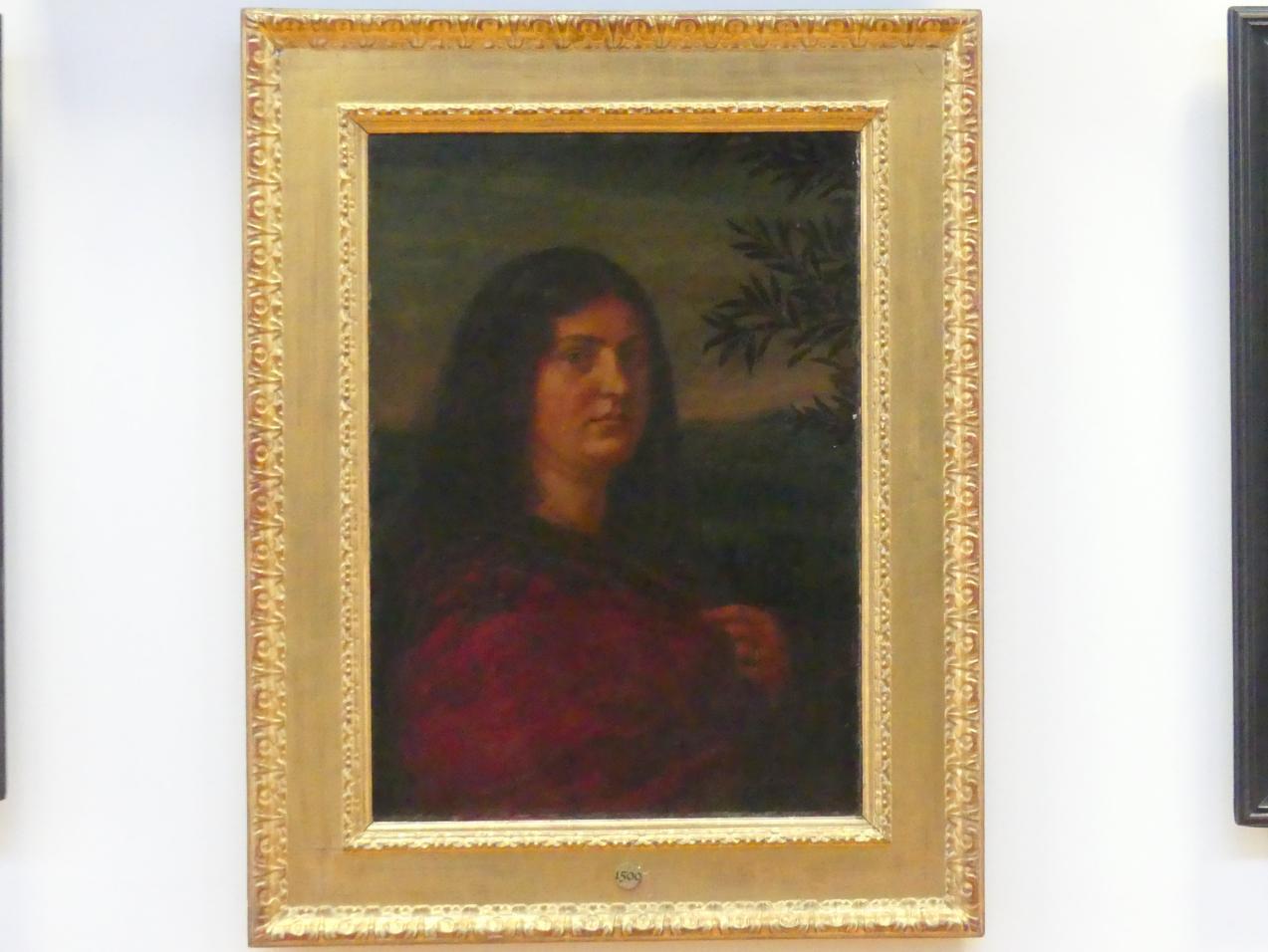 Hans Thoma: Bildnis Frau Cella Thoma, 1883