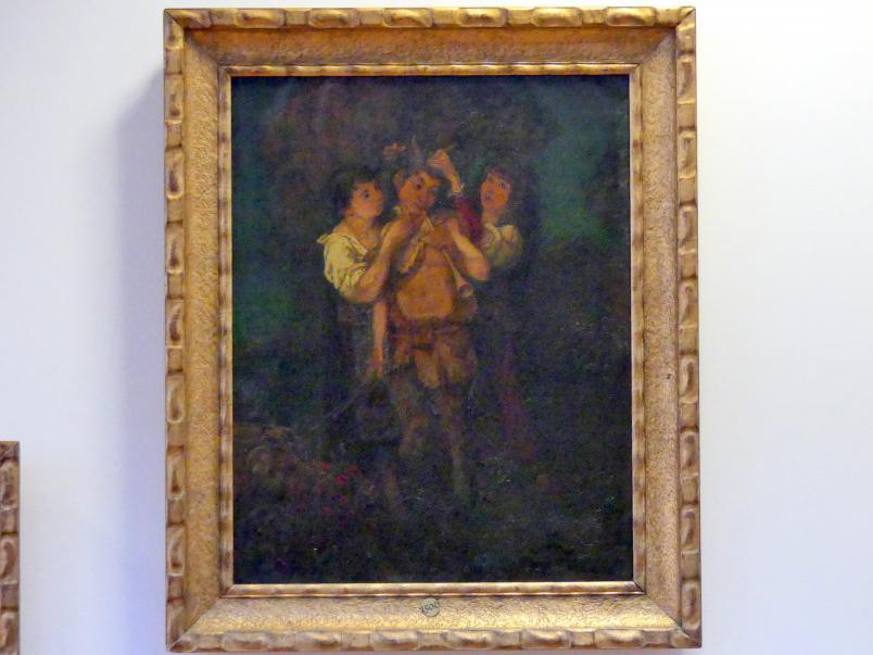 Hans Thoma: Der gefeierte Pan, 1874