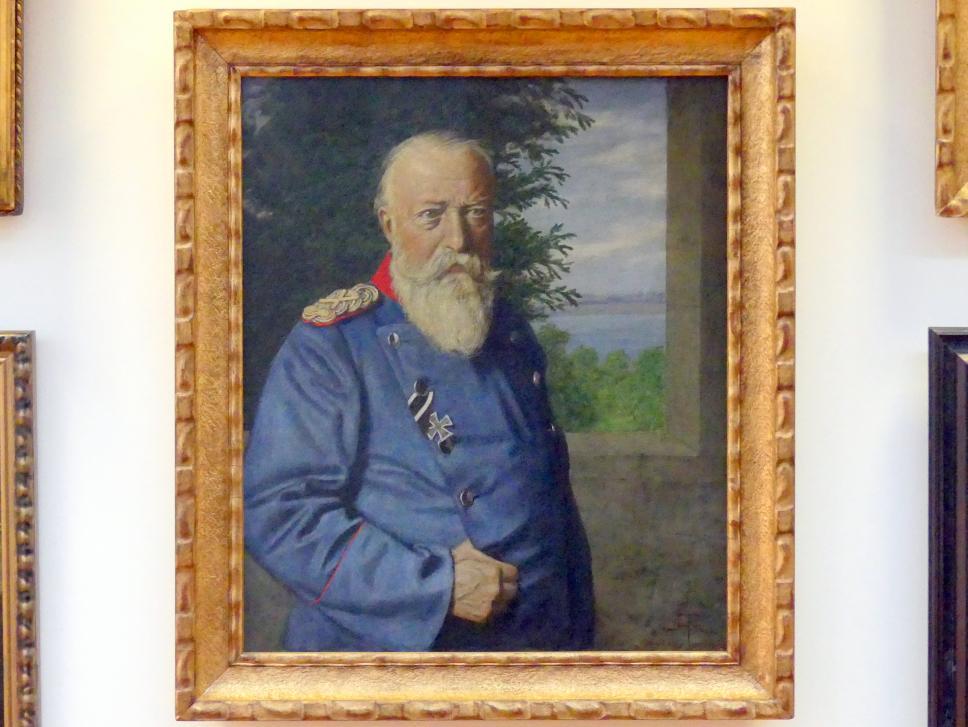 Hans Thoma: Großherzog Friedrich I. von Baden, 1909