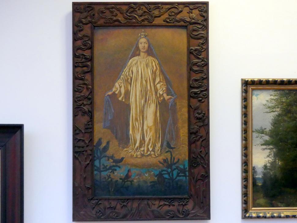 Hans Thoma: Maria als Himmelskönigin, 1908