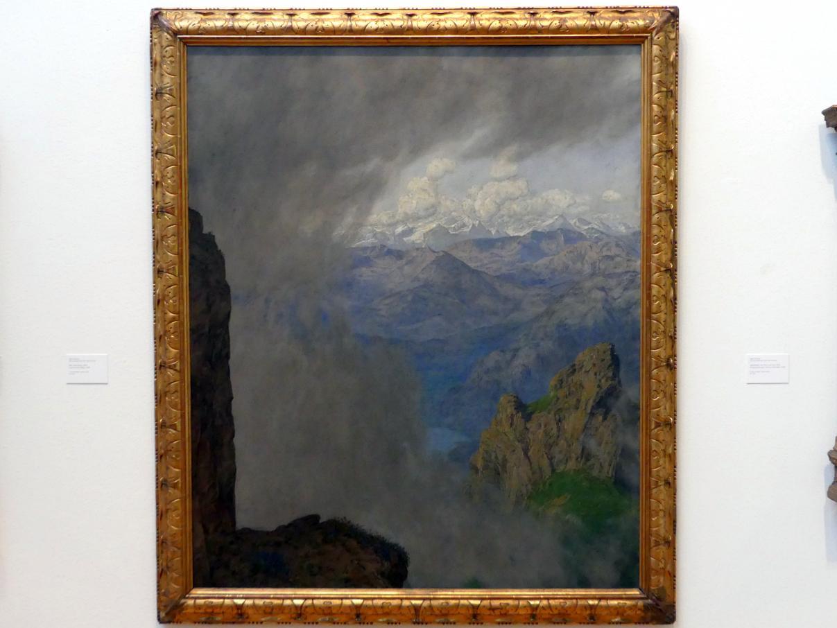 Hans Thoma: Blick vom Pilatus, 1904