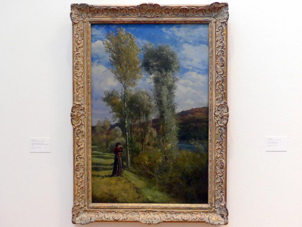 Hans Thoma: Herbsttag am Oberrhein, 1877
