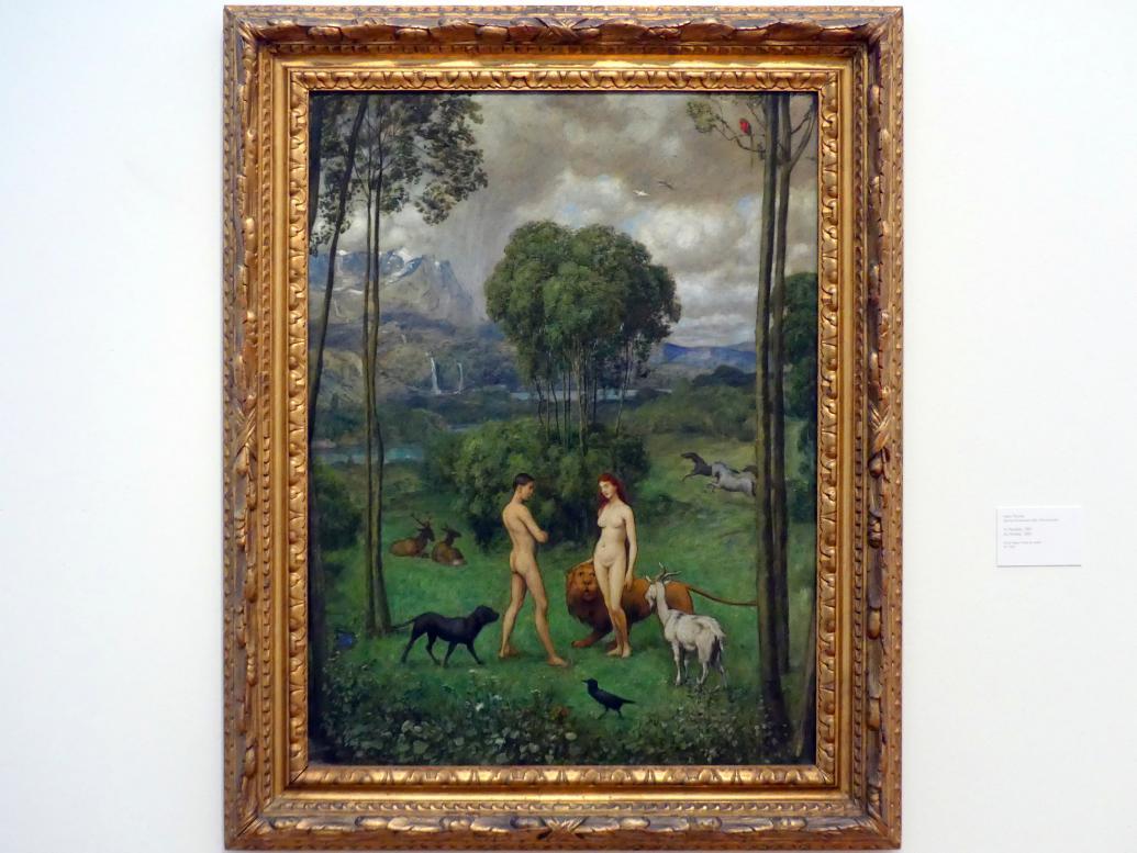 Hans Thoma: Im Paradies, 1891
