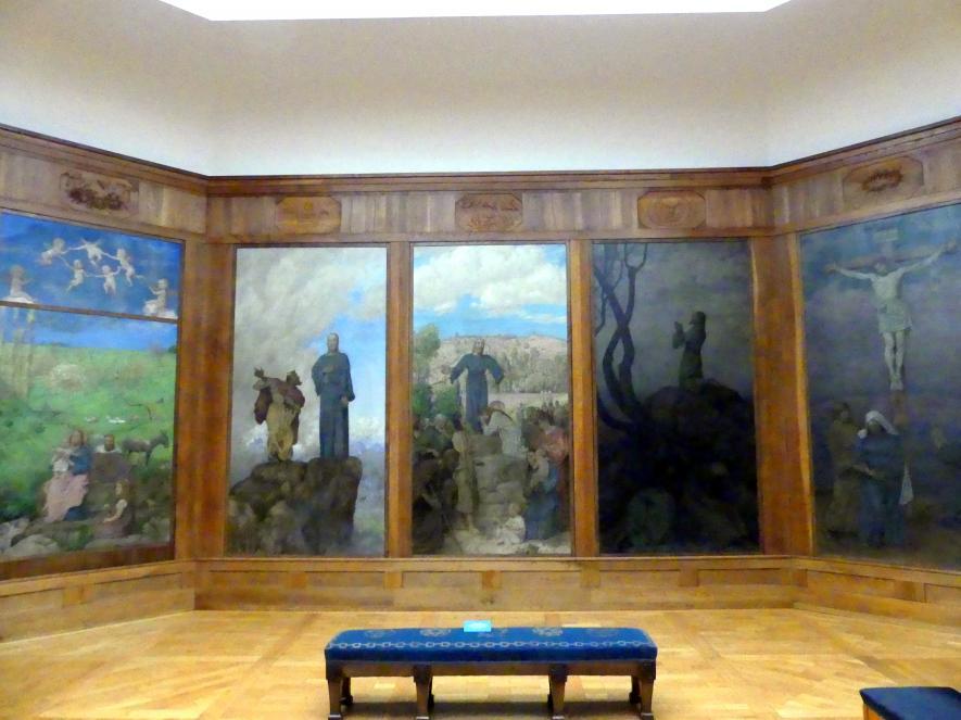 """Hans Thoma: Die Thoma-""""Kapelle"""", 1909"""