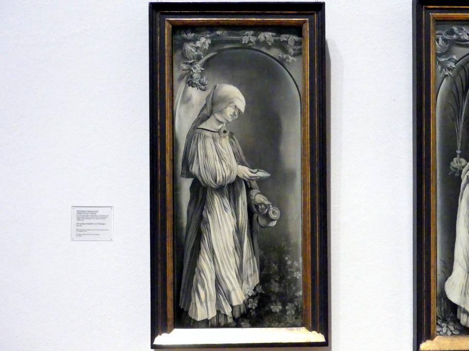 Matthias Grünewald (Mathis Gothart-Nithart): Die heilige Elisabeth von Thüringen, 1511 - 1512