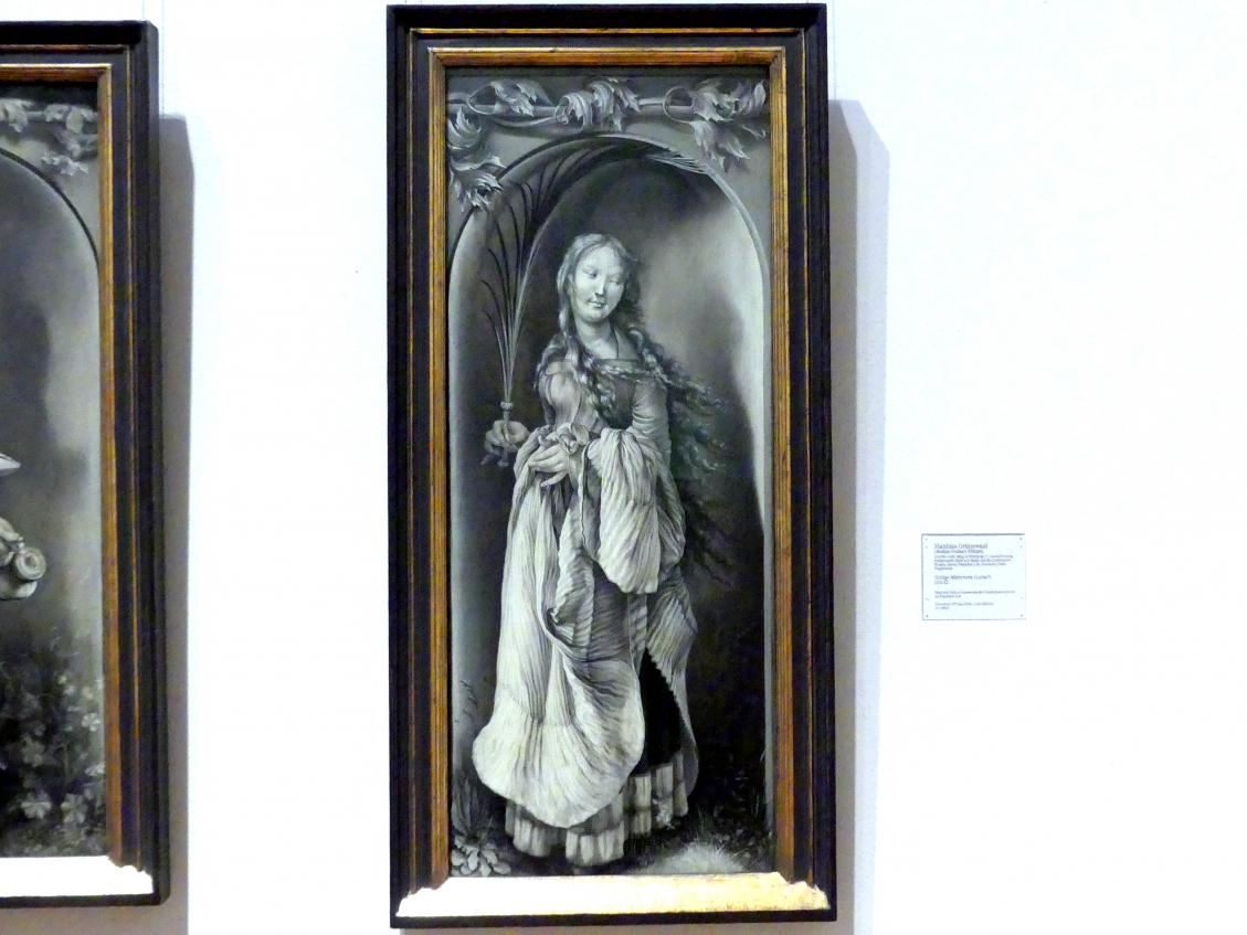 Matthias Grünewald (Mathis Gothart-Nithart): Heilige Märtyrerin (Lucia?), 1511 - 1512