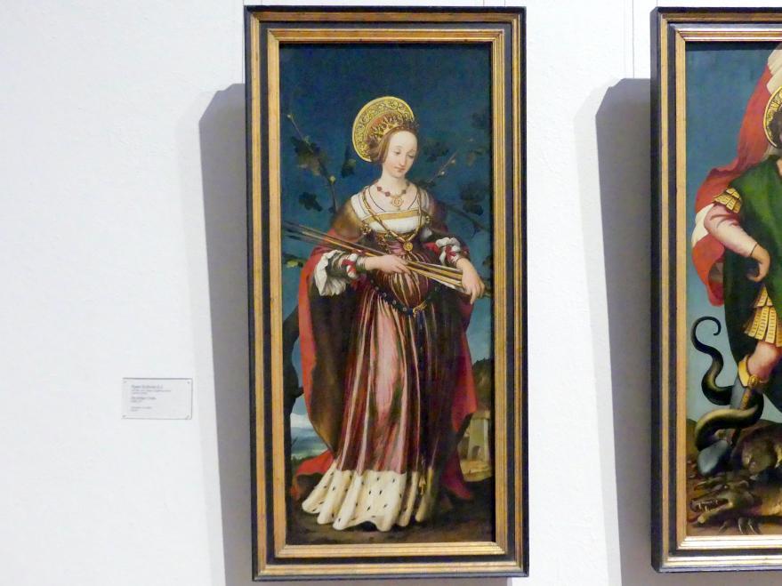 Hans Holbein der Jüngere: Die heilige Ursula, 1520